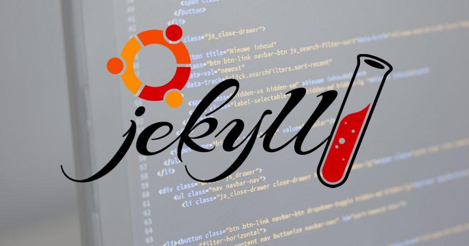 Jekyll-Development-Site-on-Ubuntu