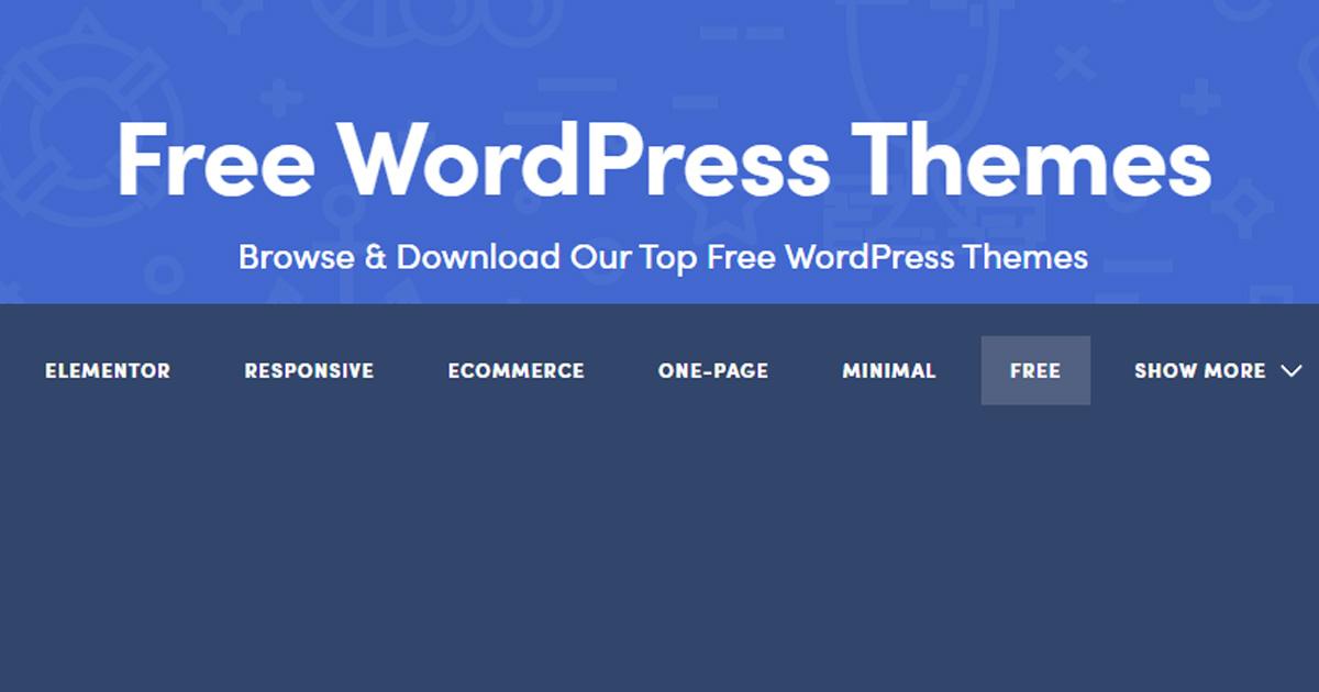 Best WordPress Ecommerce Themes Free 2021