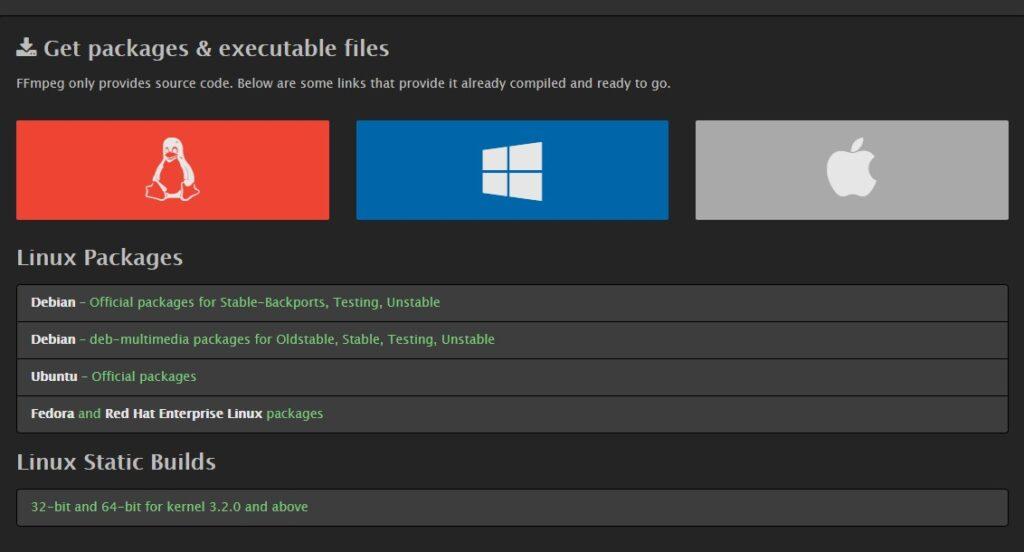 Install FFmpeg on Windows