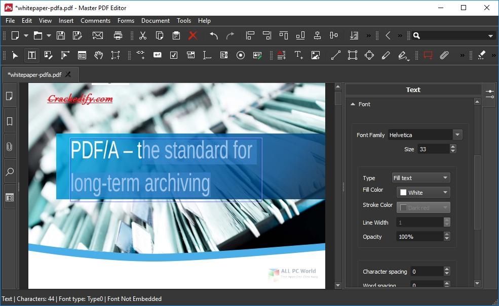 Master PDF Editor Free Download