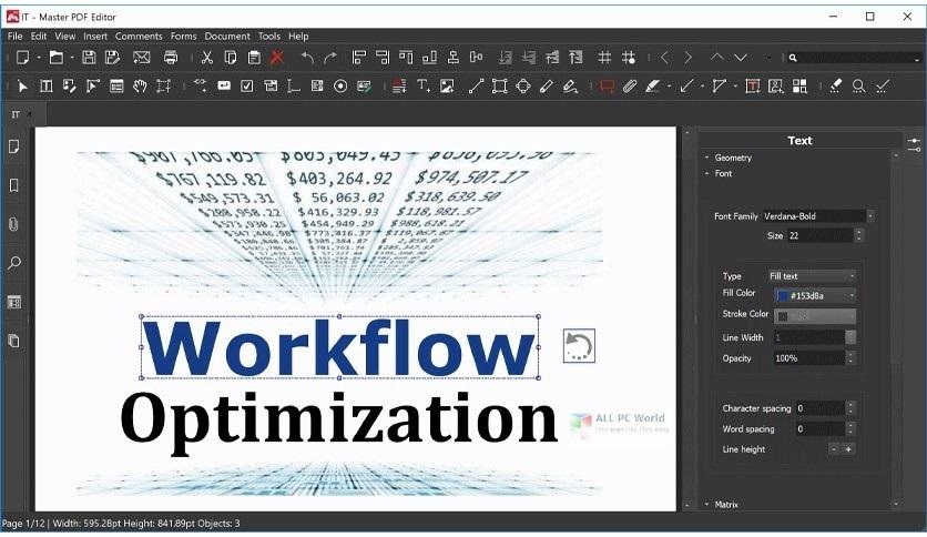 Master PDF Editor Pro Free Download