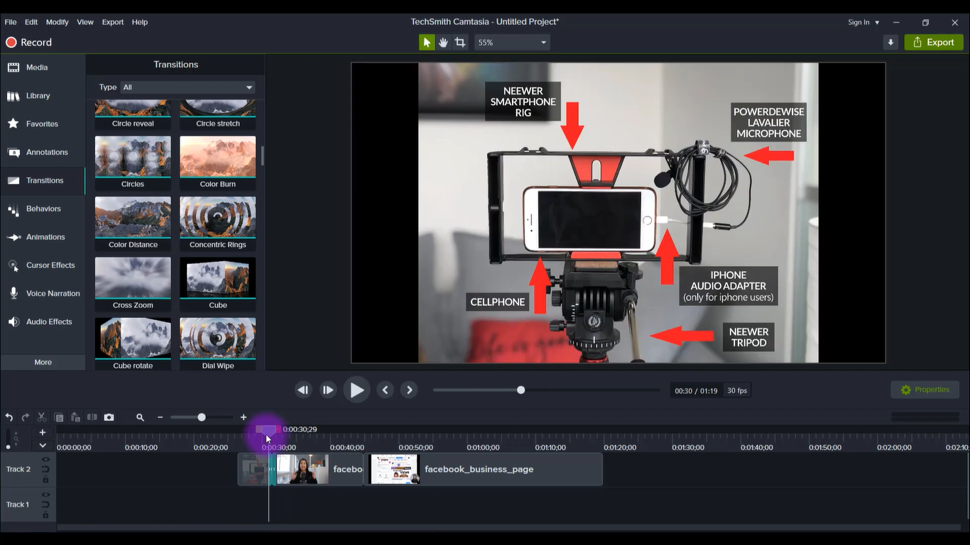 TechSmith Camtasia 2021 Setup Free Download