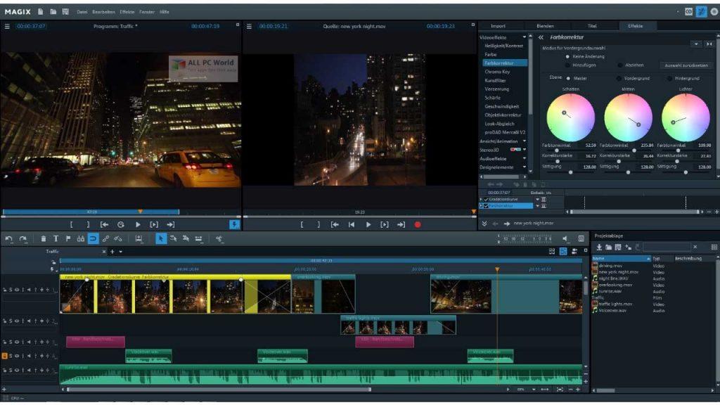 MAGIX Video Pro X12 v18.0 Free Download