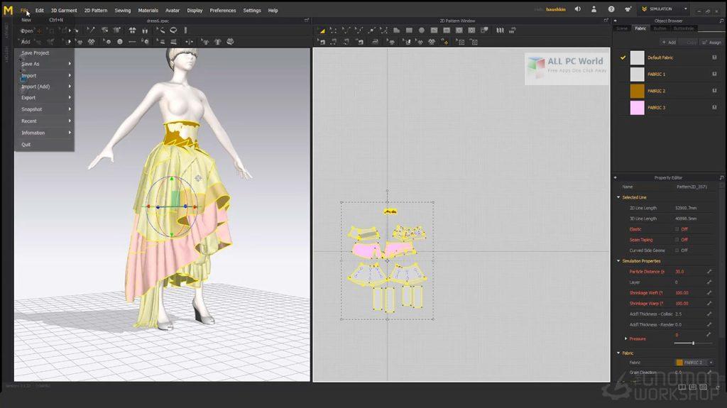 Marvelous Designer 10 Personal Full Version Download