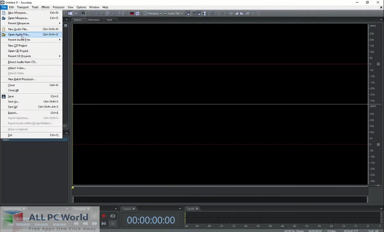 Soundop Audio Editor Free Download