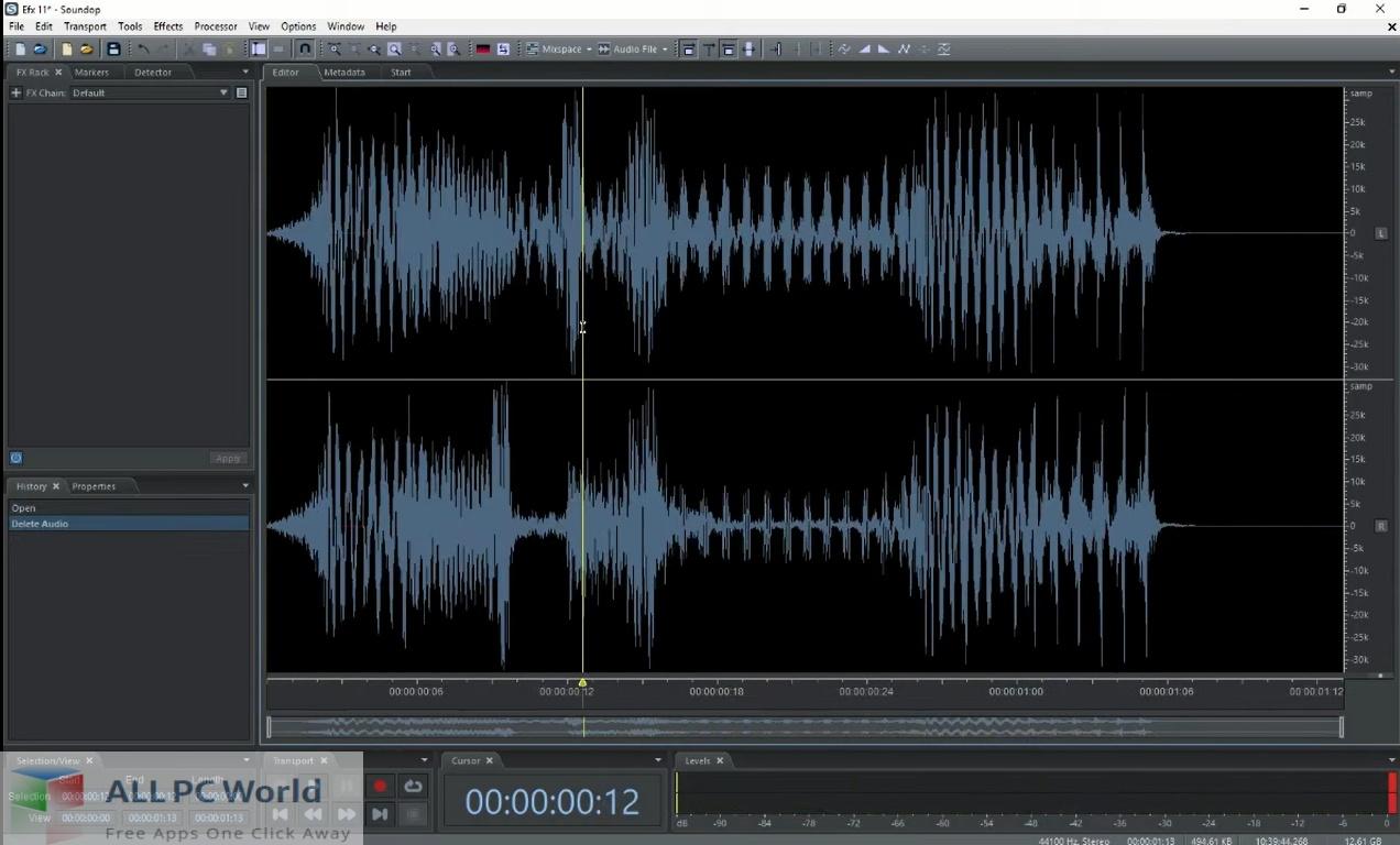 Soundop Audio Editor Download Free