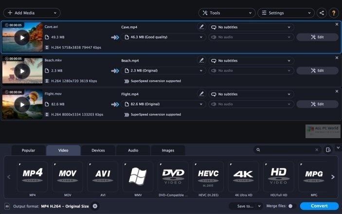 Movavi Video Converter Premium 2021 v21.0 Direct Download Link