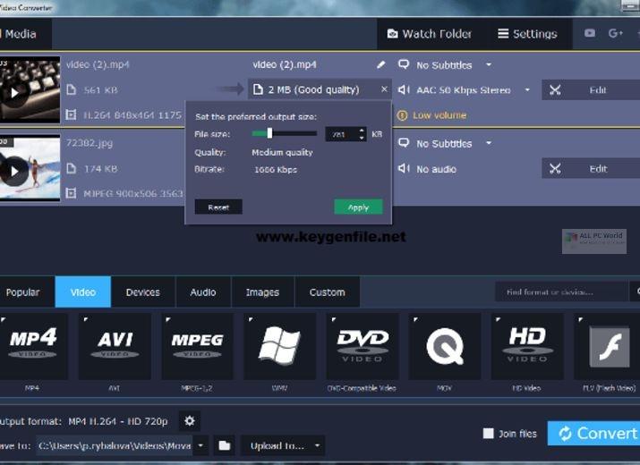 Movavi Video Converter Premium 2021 v21.0 Free Download