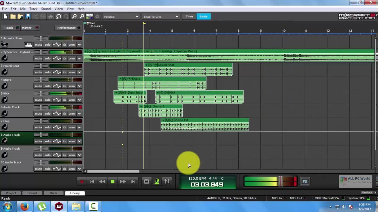 Mixcraft Pro Studio 9 Free Download