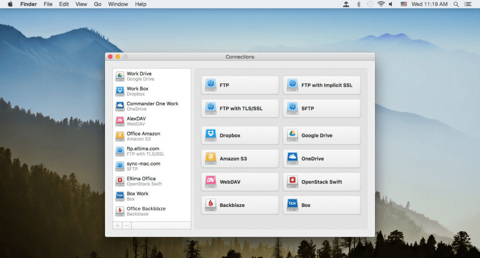 CloudMounter 3.2 for macOS Free Download