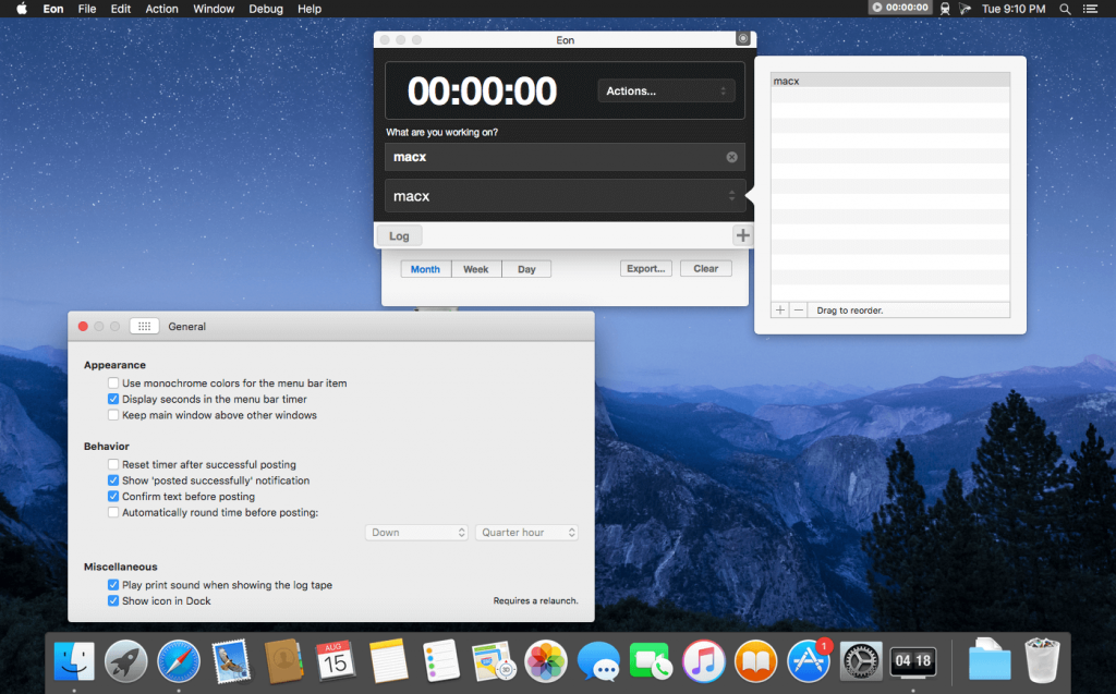 Eon Timer 2 for macOS Free Download