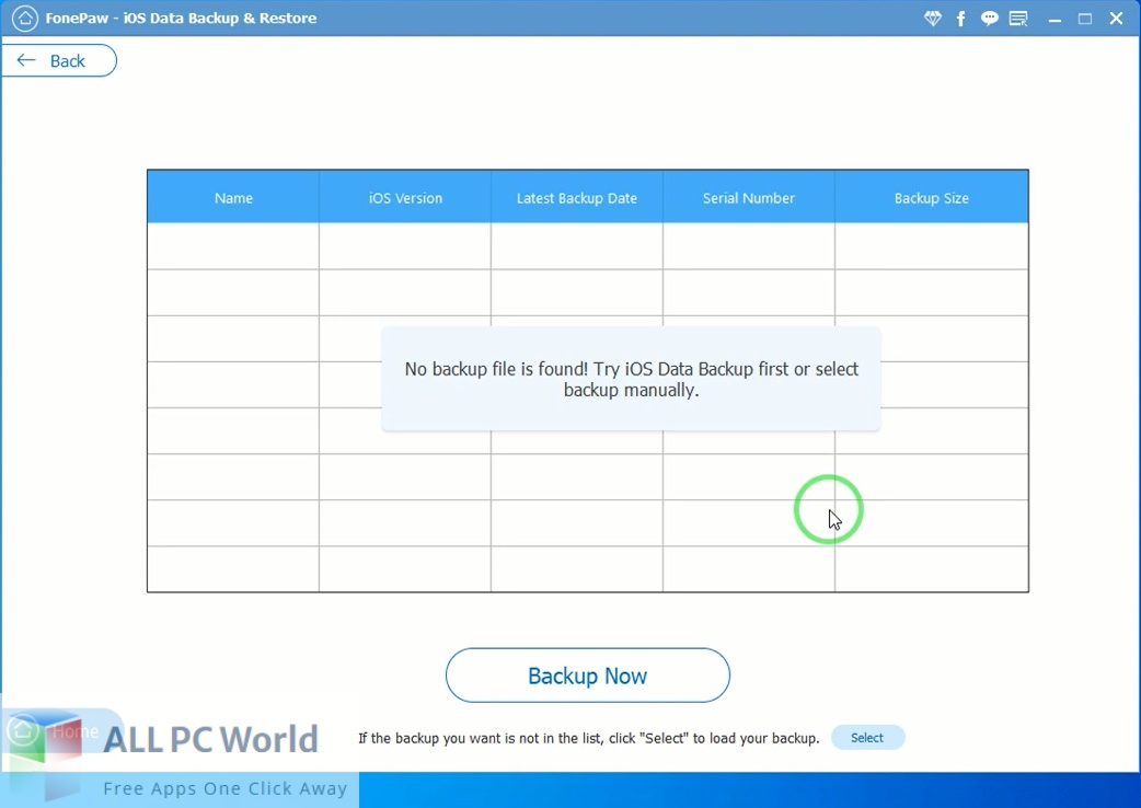 FonePaw iOS Data Backup and Restore Download Free
