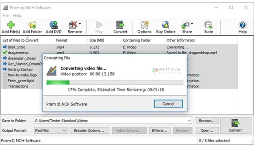NCH Prism Plus 6.91 Direct Download Link