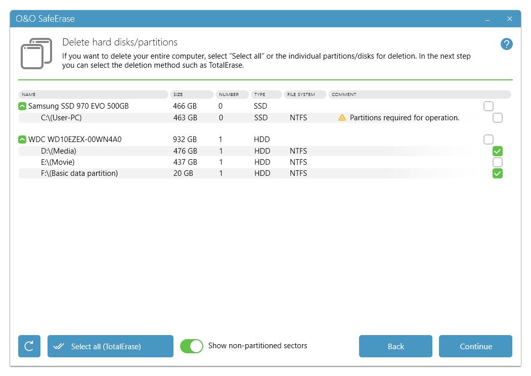 O&O SafeErase Pro 16 Download