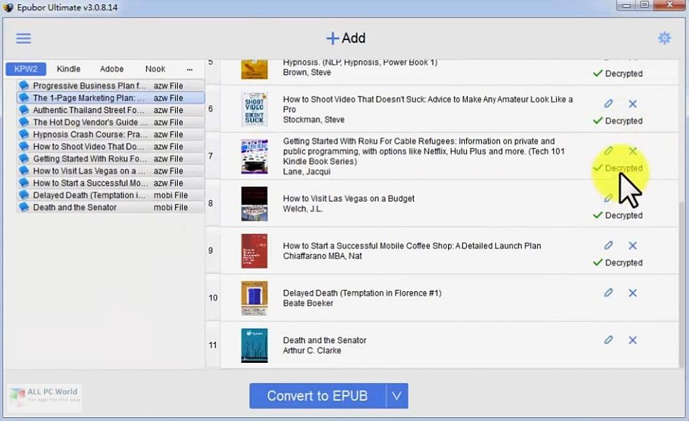 Epubor Ultimate Converter Free Download