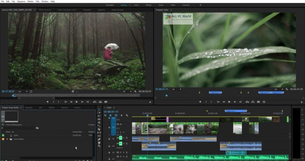 Adobe Premiere Pro 2021 v15.0 One-Click Download