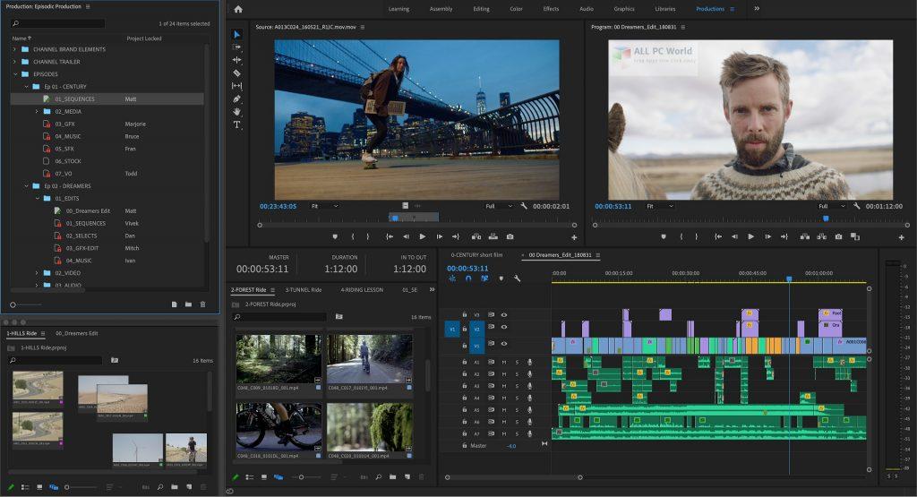 Adobe Premiere Pro 2021 v15.0 Free Download