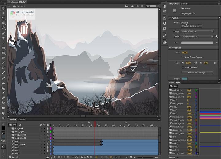 Adobe Animate CC 2021 v21.0 One-Click Download