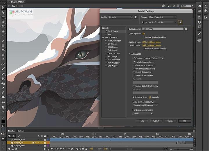 Adobe Animate CC 2021 v21.0 Free Download