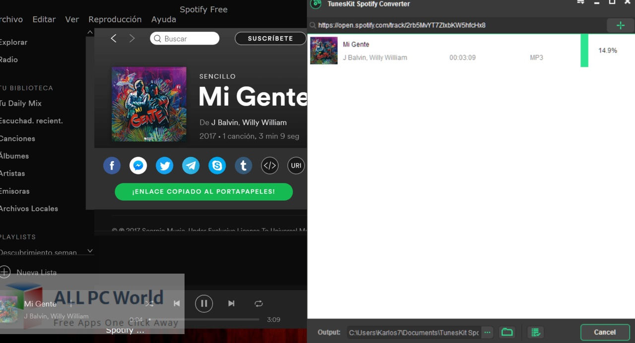 TunesKit Spotify Music Converter 2 For macOS Free Download