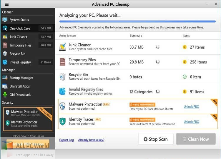 Advanced PC Cleanup For Mac Free Download