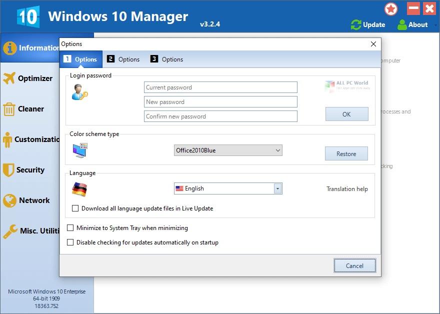 Windows 10 Manager 2020 v3.2