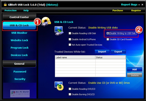 GiliSoft USB Lock 2021 Download