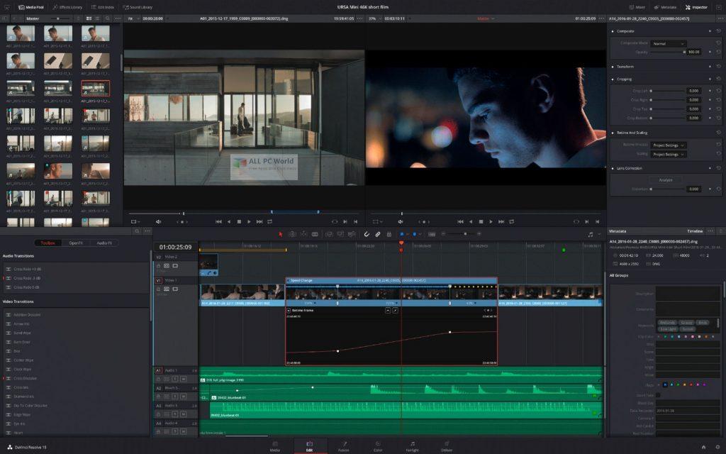 DaVinci Resolve Studio 17.0 Direct Download