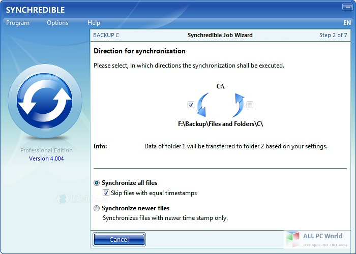Download Synchredible Professional Free