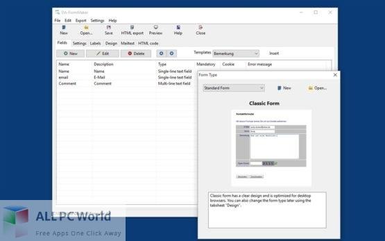DA-FormMaker Professional Free Download