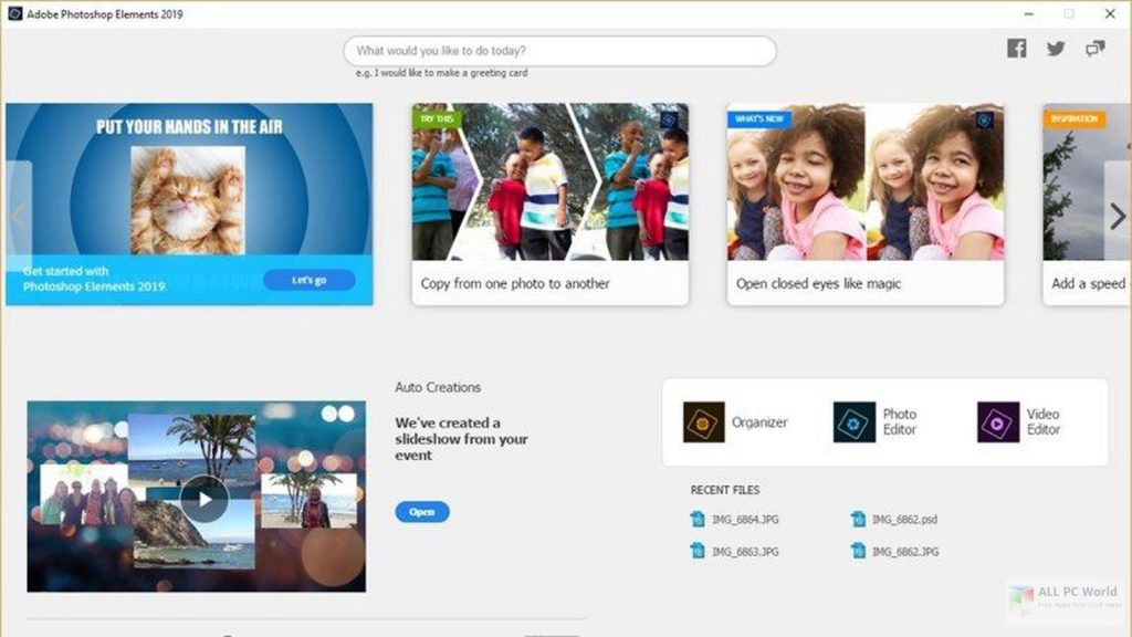 Adobe Photoshop Elements 2021 Direct Download Link
