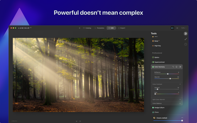 Luminar AI 1.4.1 for macOS Free Download