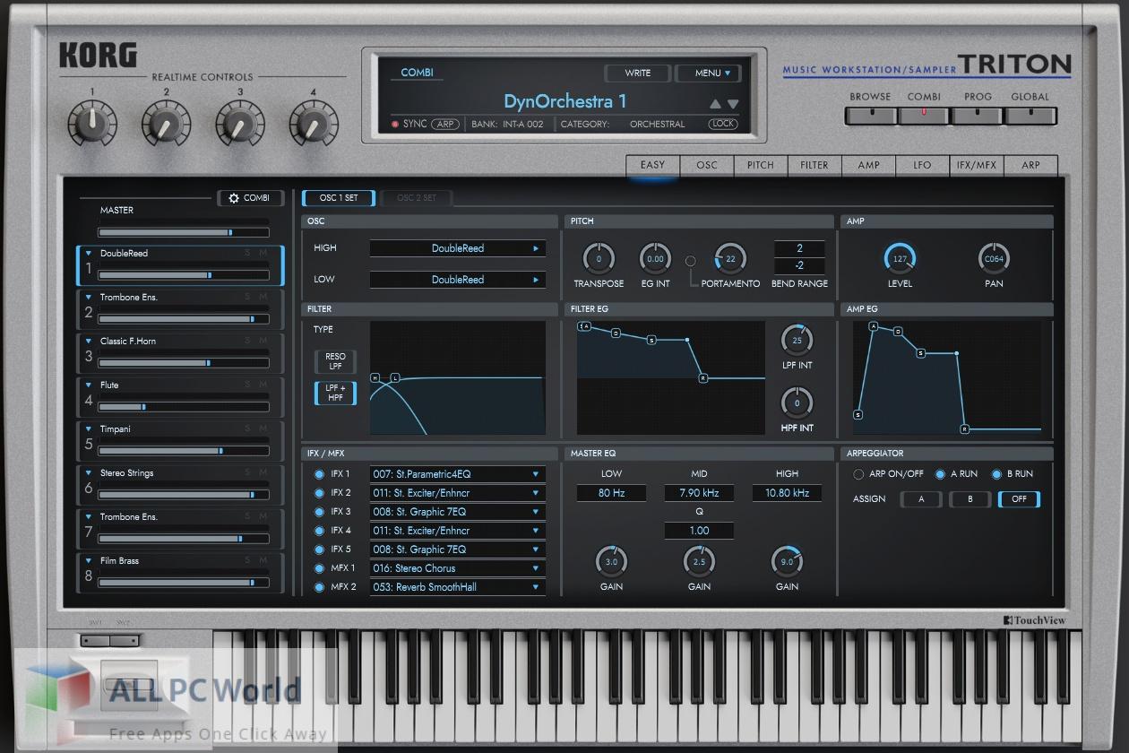 KORG Triton v1 Free Download