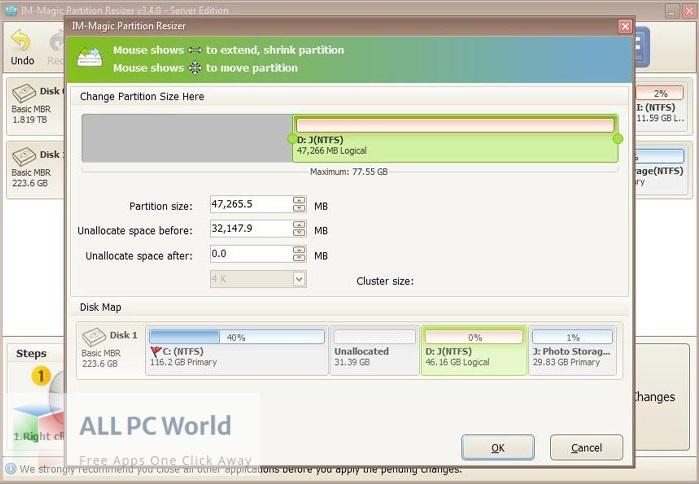IM-Magic Partition Resizer 3 Free Download