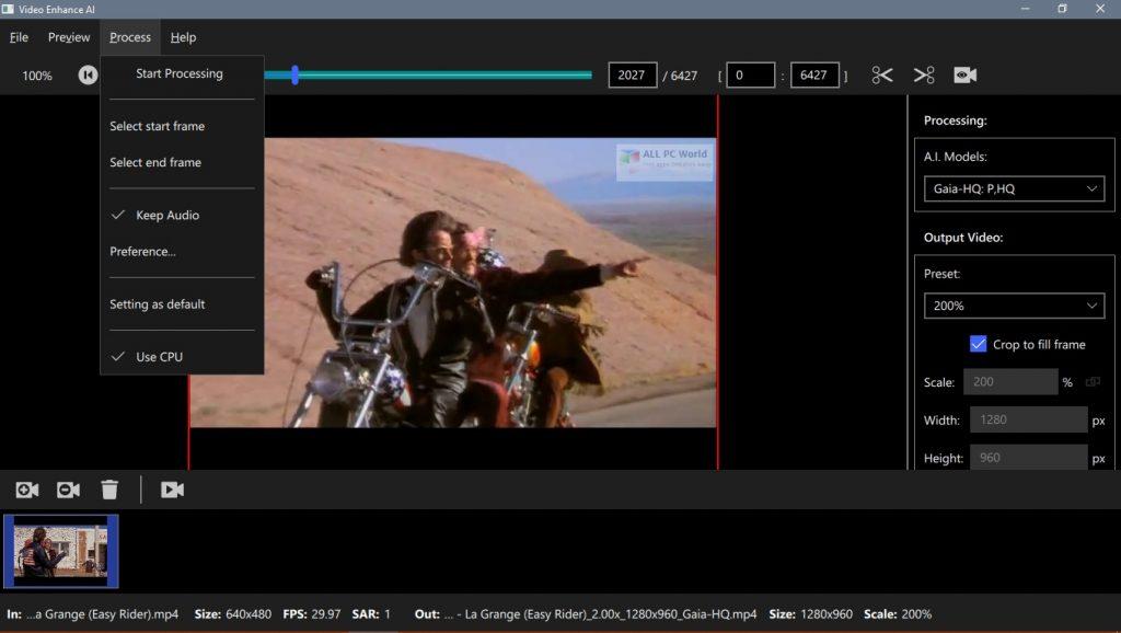 Topaz Video Enhance AI 1.2.2 Free Download