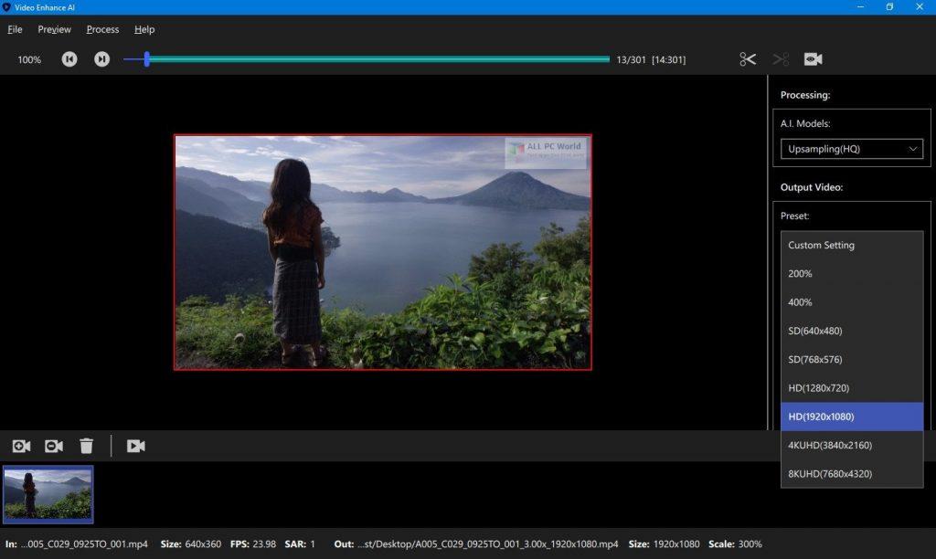 Topaz Video Enhance AI 1.2.2