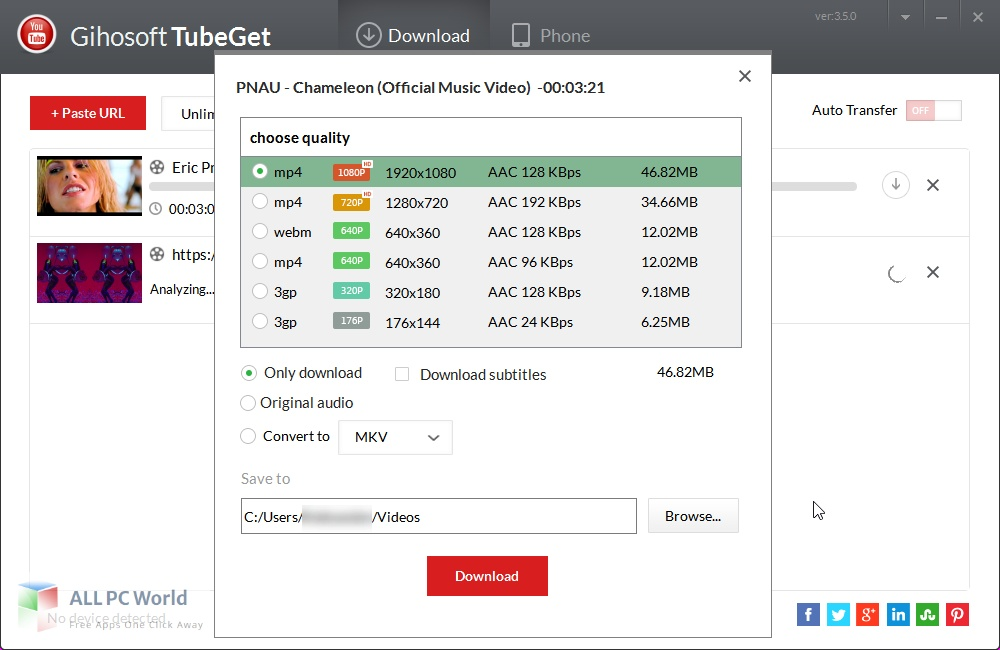 Download Gihosoft TubeGet Pro Free