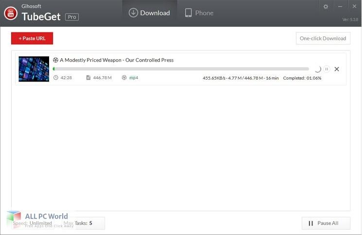 Gihosoft TubeGet Pro Free Download