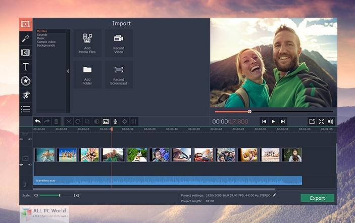 Movavi Video Editor Plus Free Download