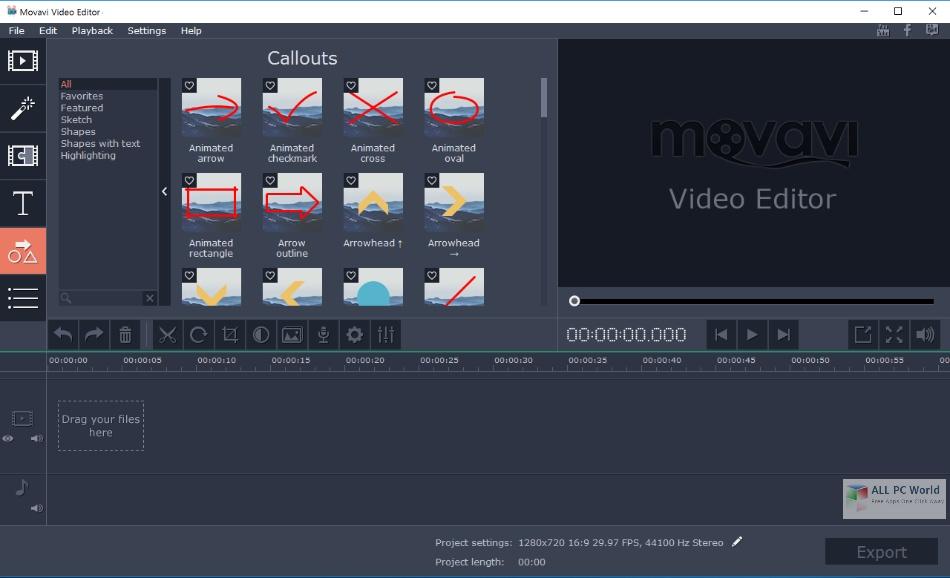 Movavi Video Editor Plus 21.0 Free Download