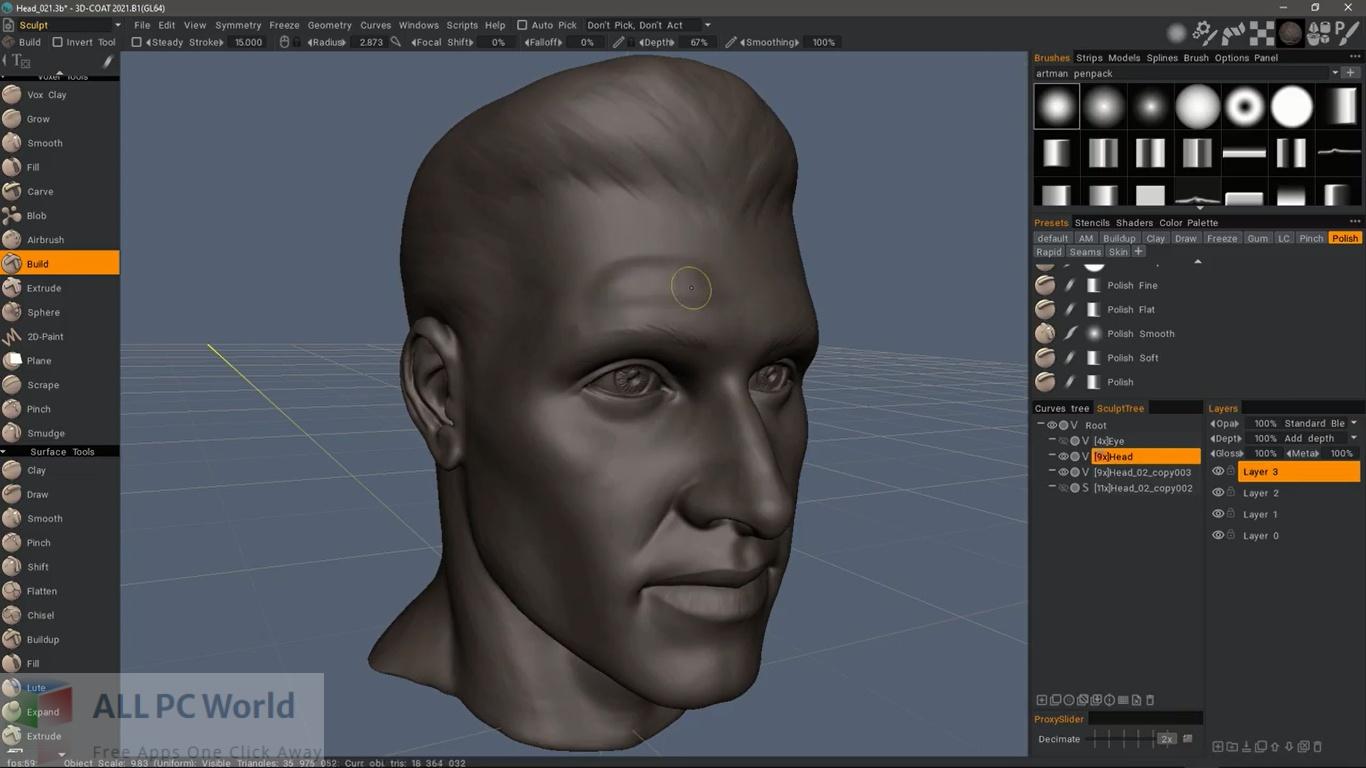 Free 3D-Coat 2021 Download
