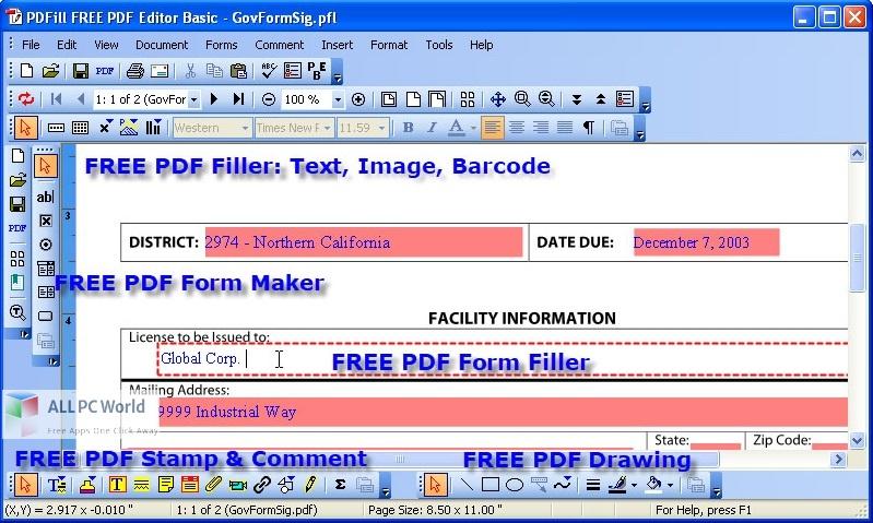 PDFill PDF Editor Pro 15 Free Download