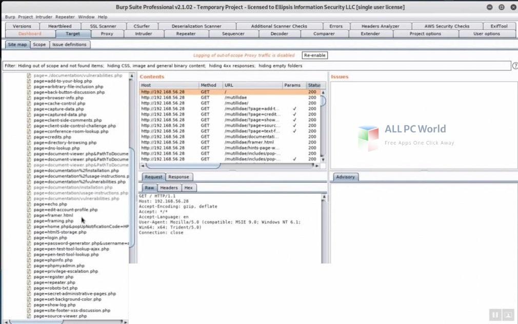 Burp Suite Professional 2021 Installer Free Download