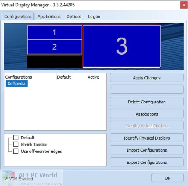 Download Virtual Display Manager 3 Free