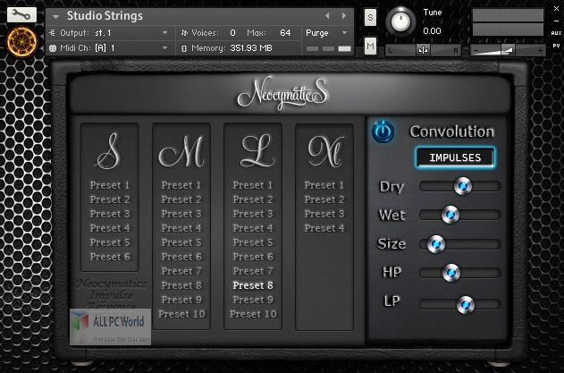 Neocymatics Hybrid Strings KONTAKT Library for Free Download