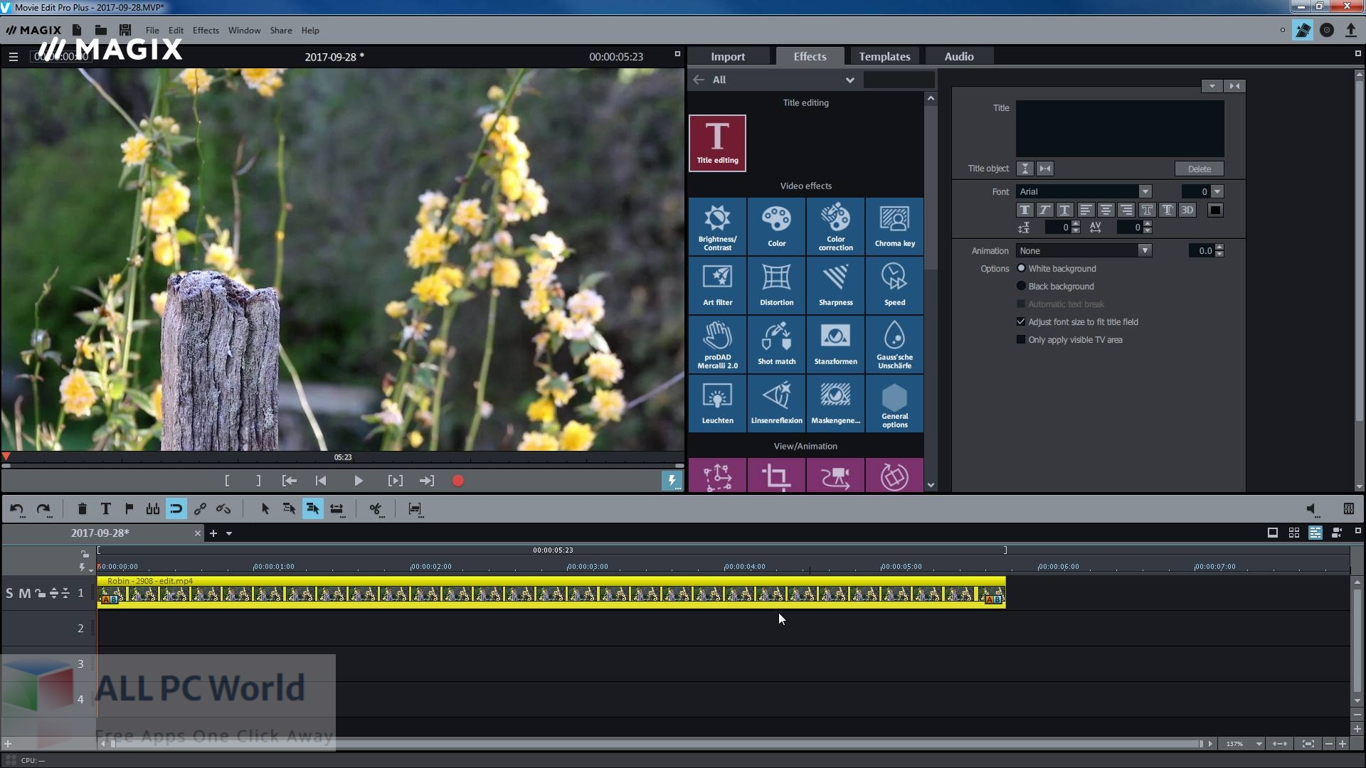 MAGIX Movie Edit Pro 2022 for Free Download