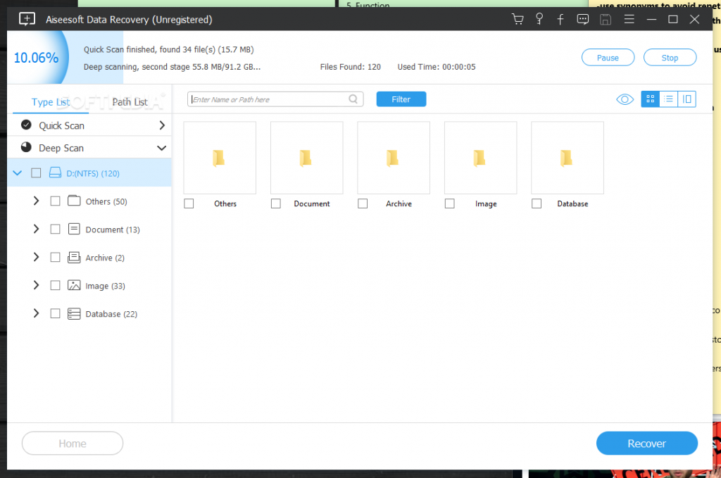 Aiseesoft Data Recovery 1.2 for macOS Free Download