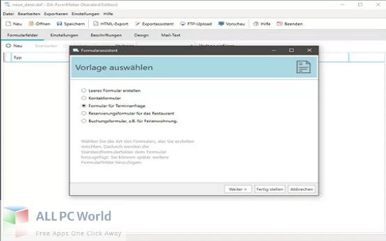 DownloadDA-FormMaker Professional 4 Free