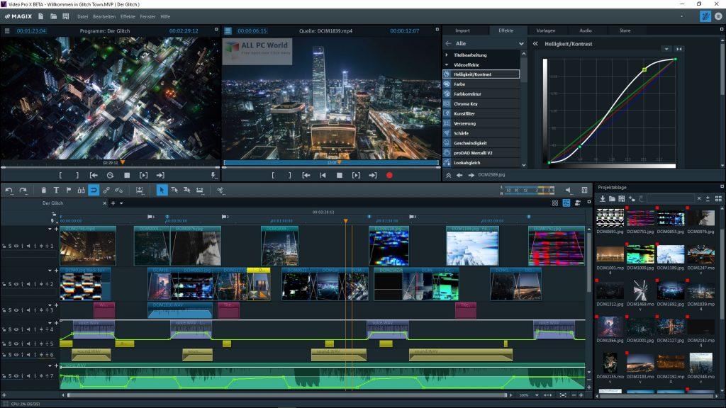 MAGIX Video Pro X12 v18.0 Download