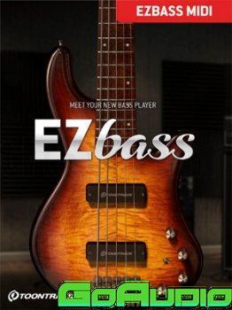 Toontrack EZbass MIDI Pack Update 08112021
